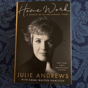 "Julie Andrews hard cover autobiography ""Home Work"""
